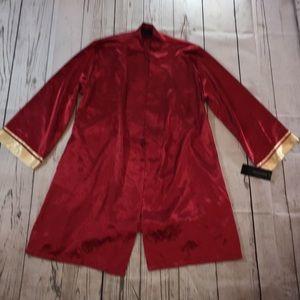 Jones New York NWT Red Soft Satiny Robe